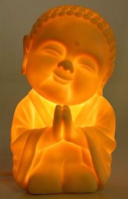 Buddha LED Lamp - Faith