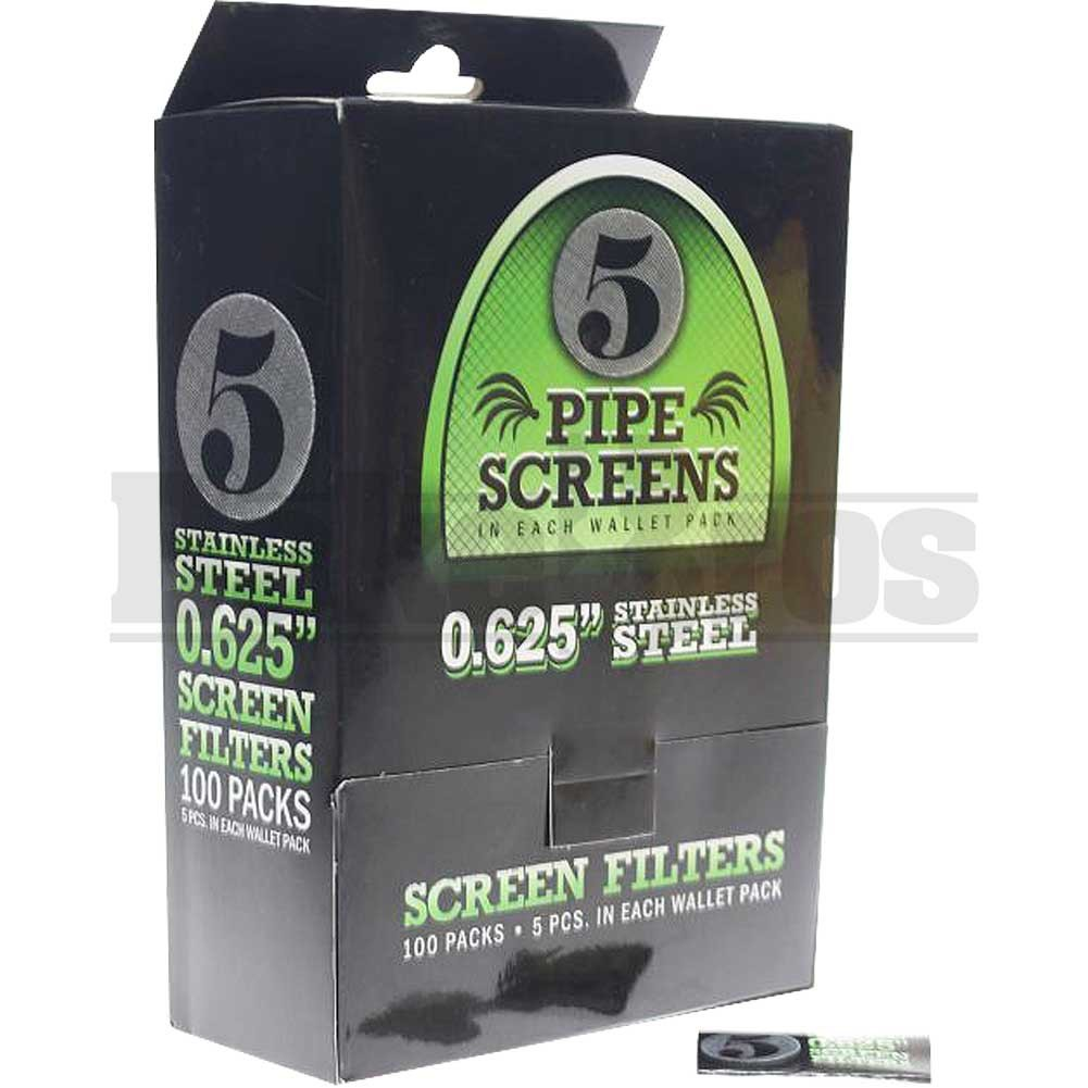 Pipe Screen Filter Stainless Steel 0.625