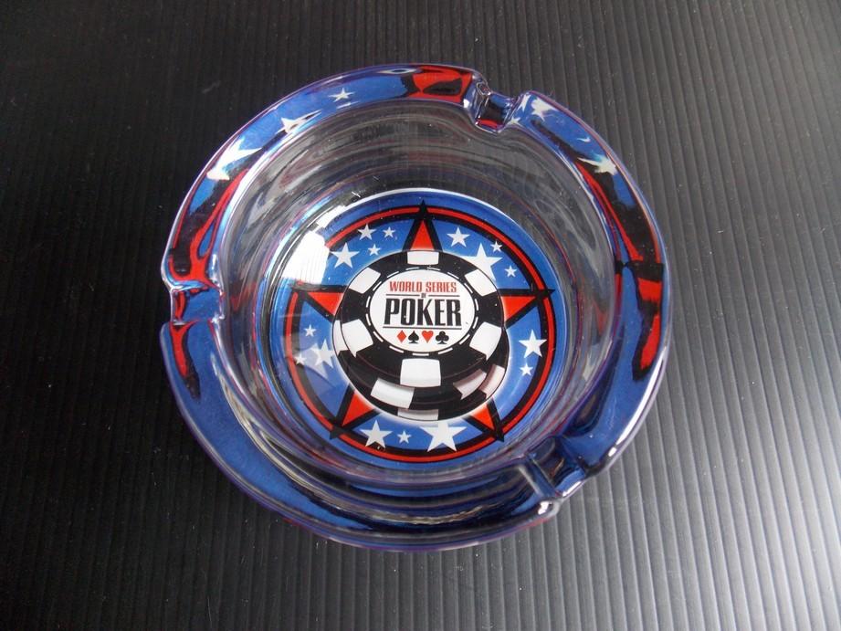 World Series Glass Ashtray