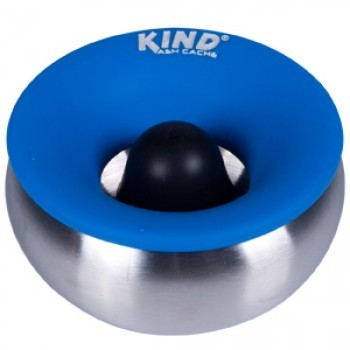 Kind Ashtray Cache Stainless Bowl Blue Top