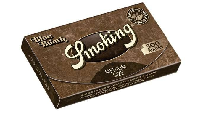 Smoking Brown 300 Medium Rolling Paper