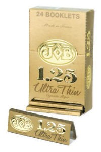 Job 1 1/4 Gold Ultra Thin Rolling Paper