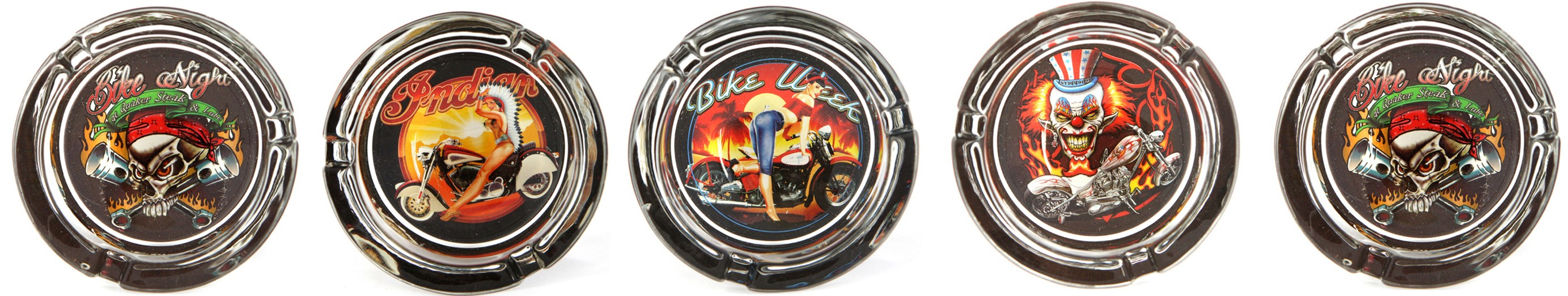 Biker Girl Ashtray