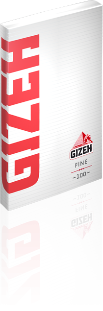 Gizeh Fine Slow Burning  Rolling Paper with magnet Seal