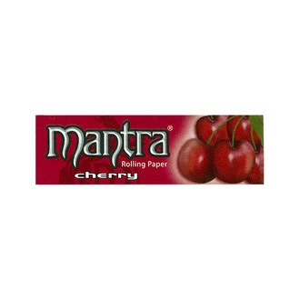 Mantra Rolling Paper  1 1/4 Cherry