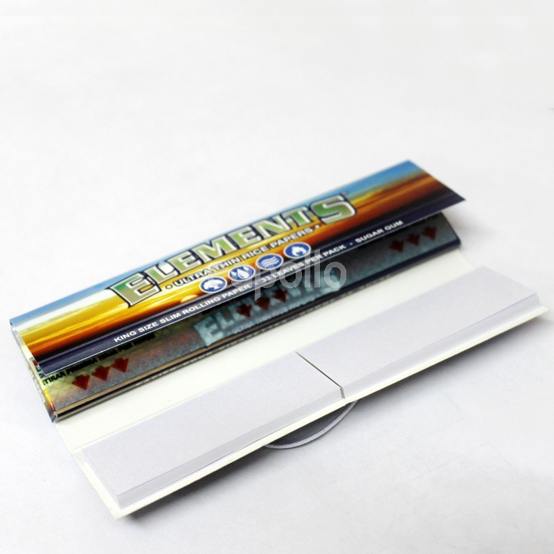 Elements Connoisseur King Size Slim with Filter Tips