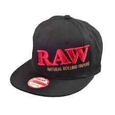 Raw Snap Back Black Hat