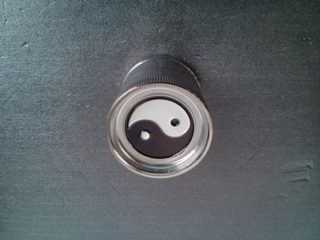 Ember Metal Grinder 5 Part - Yin Yang