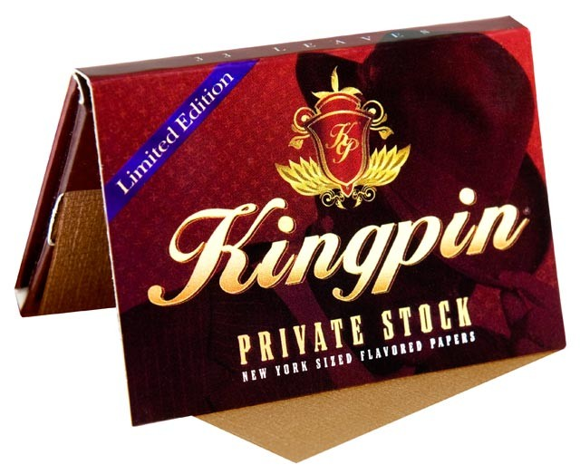 Kingpin Flavoured Rolling Papers - Private Stock (Limited Edition)