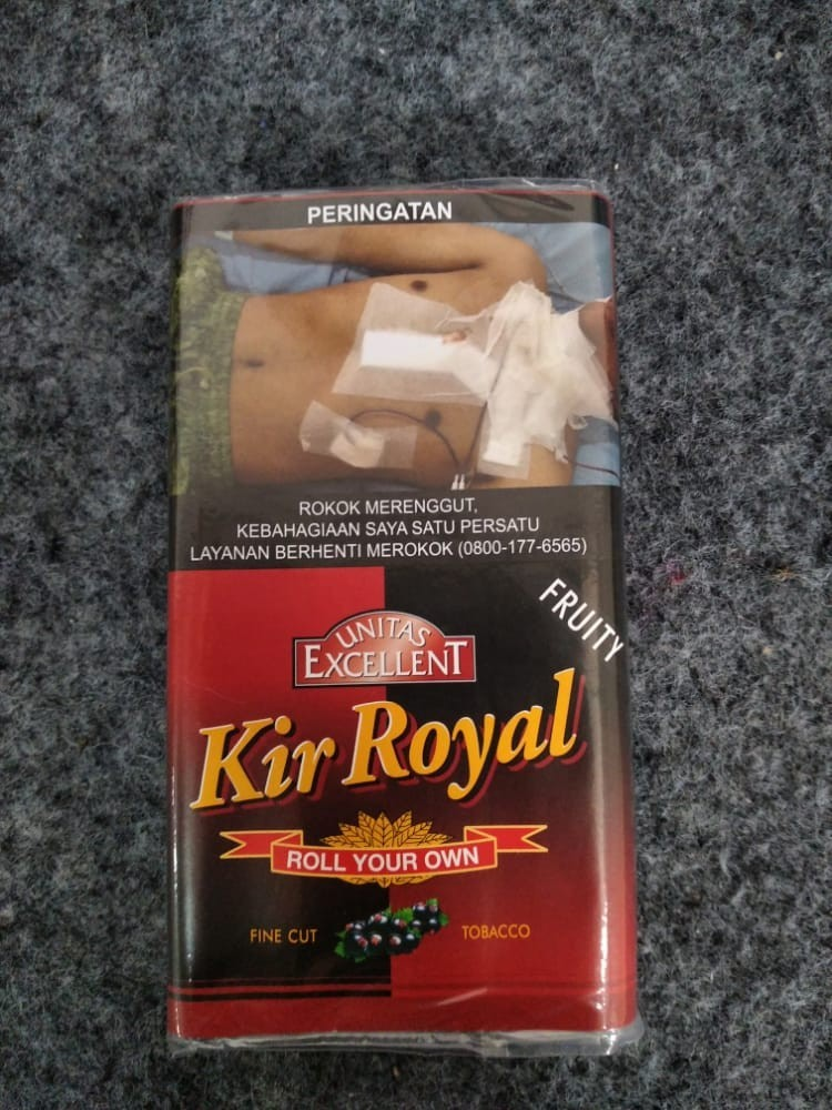 Excellent Kir Royal Rolling Tobacco