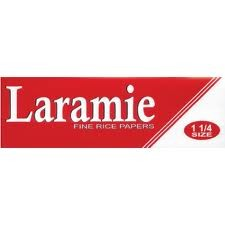 Laramie Red 1 1/4 Fine Rice Papers