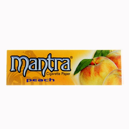 Mantra Rolling Paper  1 1/4 Peach
