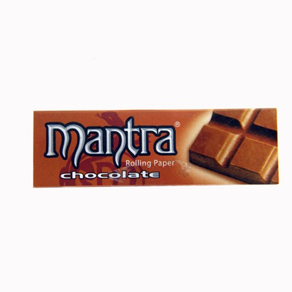 Mantra Rolling Paper  1 1/4 Chocolate