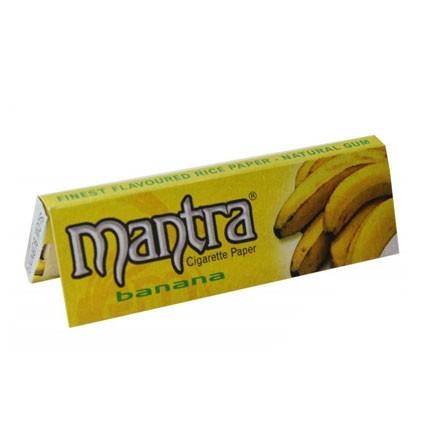 Mantra Rolling Paper  1 1/4 Banana