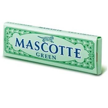 Mascotte Green Cut Corners Rolling Paper