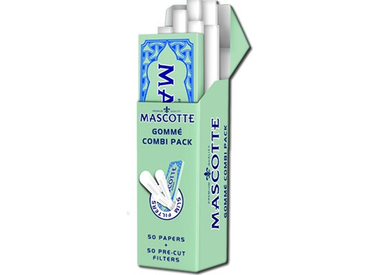 Mascotte Gomme Combi Pack - Papir + Filter