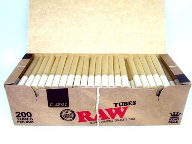 Raw King Size Filter Tubes