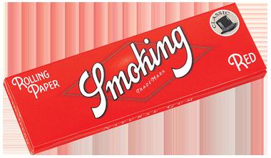 Smoking Red Regular Papers