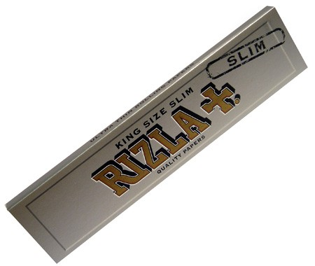 Rizla Silver King Size Slim Ultra Thin