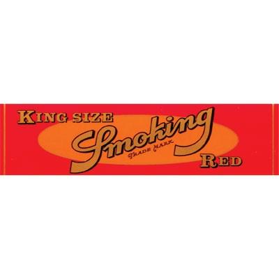 Smoking Red King Size - Rice Paper