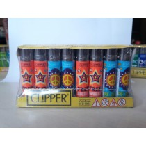 Clipper Lighter New Hippie (48 pcs)