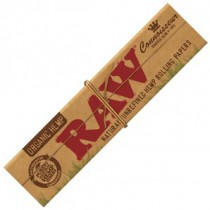 RAW Organic Connoisseur King Size Slim with Tips