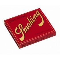 Smoking Red Papel de Arroz Rice 1 1/4