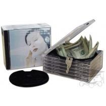 CD Stash Safe - Brankas bentuk CD