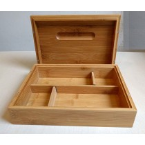 Ember Large Magnet Bamboo Rolling Box