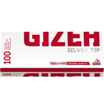 Gizeh Silver Tip 100 Filter Tubes