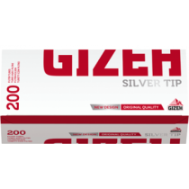 Gizeh Silver Tip 200 Filter Tubes