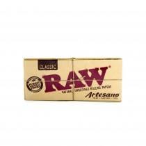 Raw Classic Artesano King Size Slim + Tips + Tray