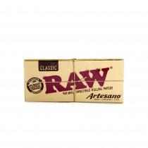 Raw Classic Artesano King Size Slim + Tips + Tray