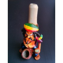 Raisin Bone Pipe - Rasta Man