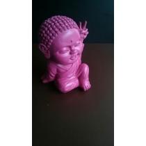 Buddha Big Pink Statue