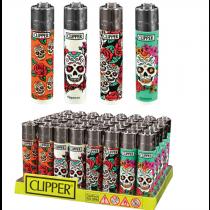 Clipper Mexican Skulls (48 pcs)
