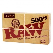 RAW 500s Classic Rolling Papers