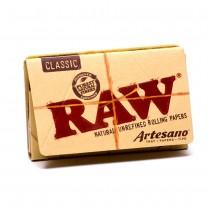 RAW Classic Artesano 11/4 + Tips + Tray