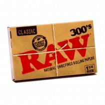 RAW 300s Classic Rolling Papers