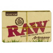 RAW Organic Artesano 11/4 + Tips + Tray